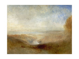 Landscape With a River And a Bay In the Distance, 19th Century Giclee Print by Joseph Mallord William Turner