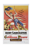 The Crimson Pirate, 1952, Directed by Robert Siodmak Giclee Print
