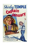 Captain January, 1936, Directed by David Butler Giclee Print