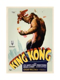 "Kong, 1933, ""King Kong"" Directed by Merian C. Cooper, Ernest B. Schoedsack Reproduction procédé giclée"