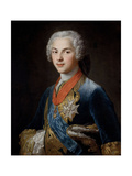 The Dauphin Louis De France, Son of Louis Xv, Ca. 1745, French School Giclee Print by Hubert Drouais