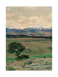 The Guadarrama On a Clear Day Giclee Print by Aureliano De beruete