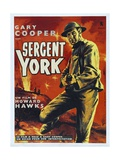 Sergeant York, 1941, Directed by Howard Hawks Giclee Print