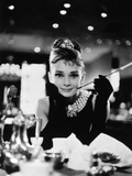 "Audrey Hepburn. ""Breakfast At Tiffany's"" 1961, Directed by Blake Edwards Fotografiskt tryck"