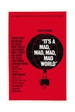 """It's a Mad, Mad, Mad, Mad World"" 1963, Directed by Stanley Kramer Giclee Print"