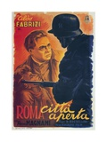 "Open City, 1945, ""Roma Citta Aperta"" Directed by Roberto Rossellini Giclee Print"