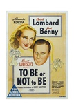 To Be Or Not To Be, 1942, Directed by Ernst Lubitsch Giclee Print