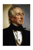 John Tyler, Jr., American Politician, 10th President of the United States Reproduction procédé giclée par George Peter Alexander Healy
