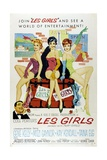 "Cole Porter's Les Girls, 1957, ""Les Girls"" Directed by George Cukor Giclee Print"