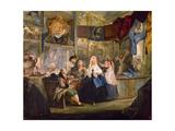 The Shop, 18th Century Giclee Print by Luis Paret y Alcazar