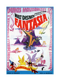 "The Concert Feature, 1940 ""Fantasia"" Giclee Print"