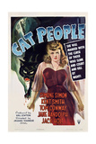 Cat People, 1942, Directed by Jacques Tourneur Wydruk giclee