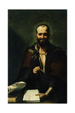 "Democritus """" 1630 Giclee Print by Jusepe De rivera"
