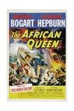 The African Queen, 1951, Directed by John Huston Digitálně vytištěná reprodukce