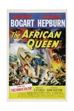 The African Queen, 1951, Directed by John Huston Gicleetryck