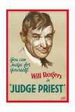 "Judas Priest, 1934, ""Judge Priest"" Directed by John Ford Giclee Print"