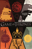 Game of Thrones House Sigils Television Poster アートポスター