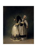 The Duchess of Alba And Her Duenna, 1795, Spanish School Giclee Print by Francisco De Goya