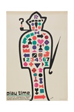 Playtime, 1967, Directed by Jacques Tati Impression giclée