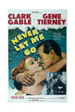 Never Let Me Go, 1953, Directed by Delmer Daves Giclee Print