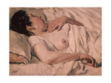 Sleeping Woman Giclee Print by Francisco Gimeno