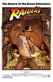 Raiders of the Lost Ark Movie (Harrison Ford with Whip) Poster Print Posters