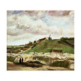 'Quarry At Montmartre', 1886 Giclee Print by Vincent van Gogh