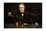 Thomas Alva Edison, 1847-1931 Giclee Print by Abraham Anderson