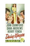Daisy Kenyon, 1947, Directed by Otto Preminger Giclee Print