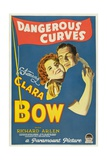 Dangerous Curves, 1929, Directed by Lothar Mendes Giclee Print