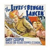 The Lives of a Bengal Lancer, 1935, Directed by Henry Hathaway Giclee Print