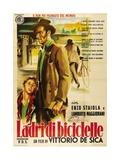 """Bicycle Thieves, 1948, """"Ladri Di Biciclette"""" Directed by Vittorio De Sica Reproduction procédé giclée"""