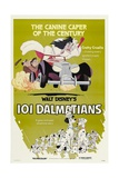 101 Dalmatians, 1961, Directed by Clyde Geronimi, Hamilton Luske, Wolfgang Reitherman Giclée-tryk