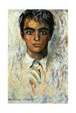 Federico García Lorca Giclee Print by Gregorio Prieto