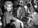 Marilyn Monroe, 1954. Marilyn Monroe In Japan for His Honeymoon With Joe Dimaggio, 1954 Photographic Print