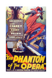 The Phantom of the Opera, 1925, Directed by Rupert Julian Giclee Print
