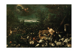 Adam Reproached, C. 1570, Italian School Giclee Print by Francesco Bassano the younger