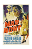 Man Hunt, 1941, Directed by Fritz Lang Giclee Print