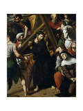 Jesus Carrying the Cross, After 1517, Spanish School Giclee Print by Juan Vicente Masip