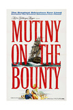 Mutiny On the Bounty, 1962, Directed by Lewis Milestone Gicléetryck