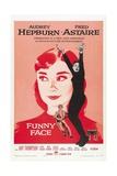 Funny Face, 1957, Directed by Stanley Donen Digitálně vytištěná reprodukce