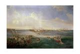 Desembarco del Ejército Español En Balanguigui Liderado Por Clavería, 19th Century Giclee Print by Antonio Brugada