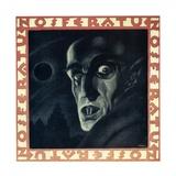 """Nosferatu, 1922, """"Nosferatu, Eine Symphonie Des Grauens"""" Directed by F. W. Murnau Giclee Print"""