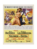 Solomon And Sheba, 1959, Directed by King Vidor Giclee Print