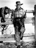 """James Cagney. """"The Oklahoma Kid"""" 1939, Directed by Lloyd Bacon Photographic Print"""