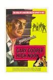 High Noon, 1952, Directed by Fred Zinnemann Digitálně vytištěná reprodukce