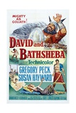 David And Bathsheba, 1951, Directed by Henry King Giclee Print
