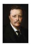Theodore Roosevelt, American Politician, 26th President of the United States Giclee Print by Adrian Lamb