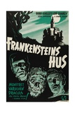 "Chamber of Horrors, 1944, ""House of Frankenstein"" Directed by Erle C. Kenton Giclee Print"
