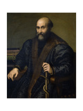 Pietro Manna, Doctor of Cremona, 1557, Italian School Giclee Print by Lucia Anguissola